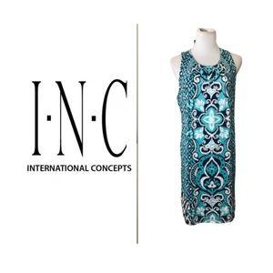 INC International Concepts Beautiful Dress. Sz L